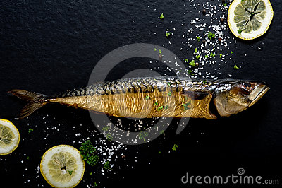 Smoked fish (mackerel)