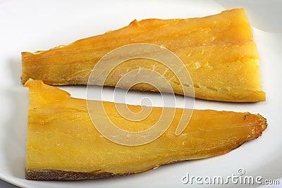 Smoked haddock horizontal