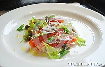 Smoked Salmon Gourmet Salad