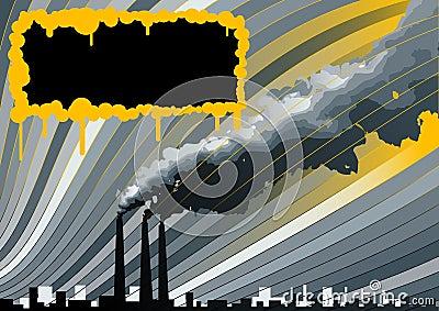 Smokestacks background