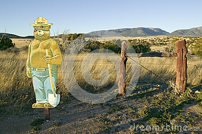 Smokey Bear Editorial Stock Image