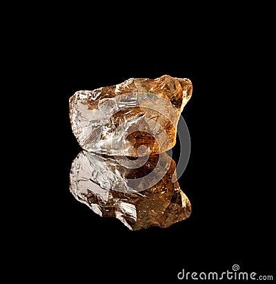 Smokey quartz gemstone