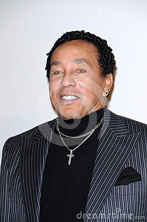 Smokey Robinson Editorial Stock Photo