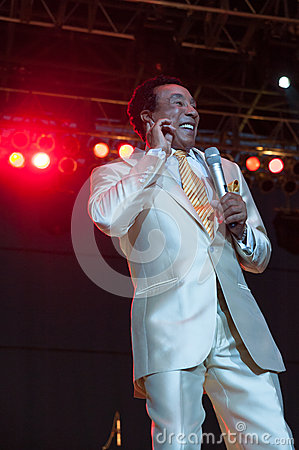 Smokey Robinson Editorial Image