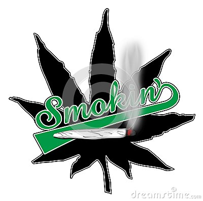 Free Smokin Pot Leaf Royalty Free Stock Image - 45249156