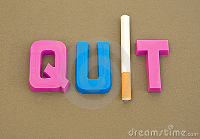 Smoking advice: quit !