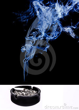 Free Smoking As Deadly Poison Stock Images - 19919474