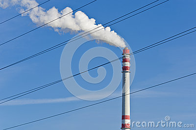 Smoking chimney 1