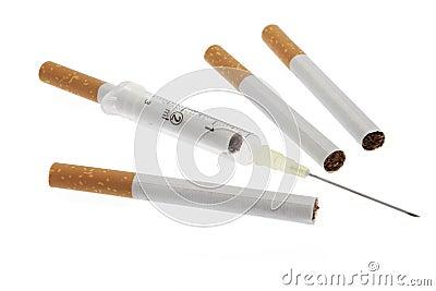 Smoking damages health