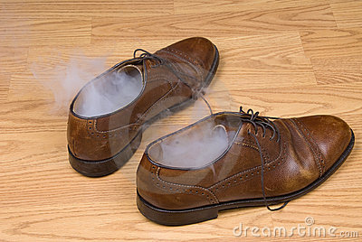 Smoking Dress Shoes Stock Photo - Image: 10599800