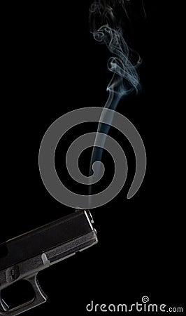 Free Smoking Gun Stock Photo - 2127460