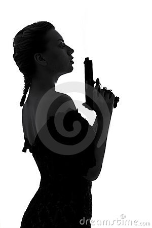 Free Smoking Gun Royalty Free Stock Images - 832249