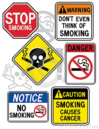 Smoking Hazard Signs 2