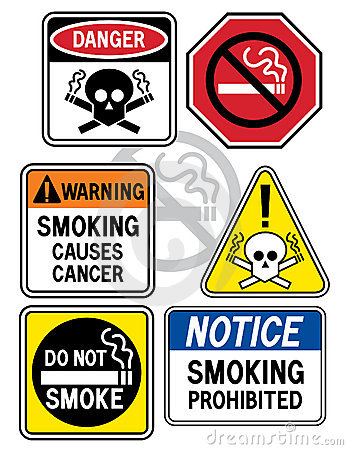 Smoking Hazard Signs 3