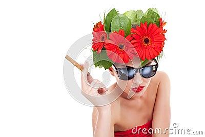 Smoking hot young woman
