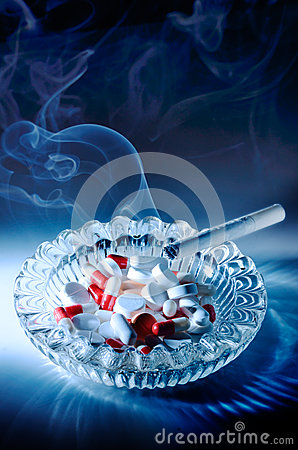 Free Smoking Kills Stock Photography - 26386572