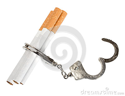 Smoking manacles dependency