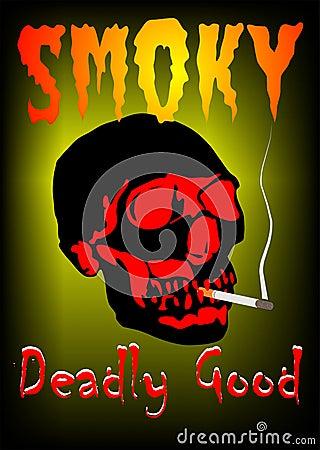 Smoky Vector Illustration