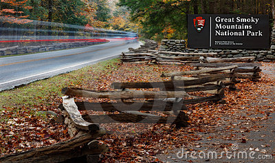 Smoky Mountains Enterance
