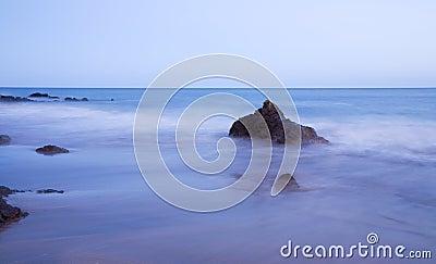 Smoky sea