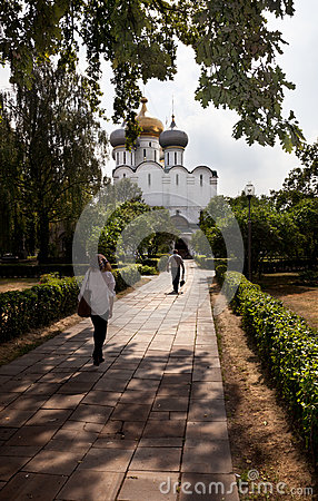 Smolensk Cathedral Editorial Photo