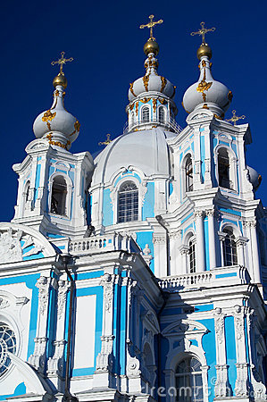 Smolny cathedral and convent