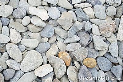 Smooth beach stone background