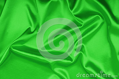 Smooth elegant green silk background