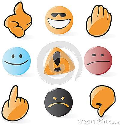 Smooth emoticon and cursor icons