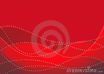 Smooth Maroon Wave Royalty Free Stock Photography - Image: 14218947