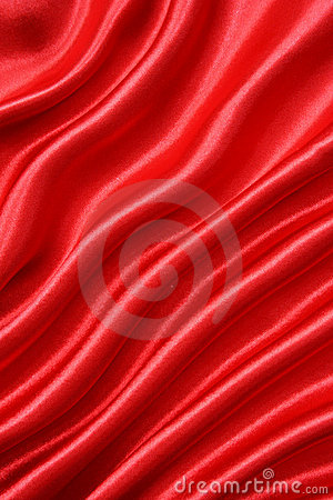 Smooth Red Silk As Background Stock Photography - Image: 9243682