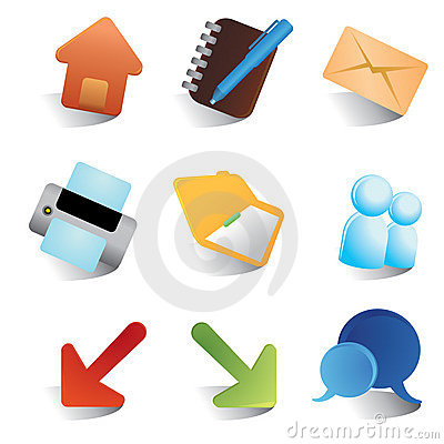 Free Smooth Render Web Icons Royalty Free Stock Photography - 8649737