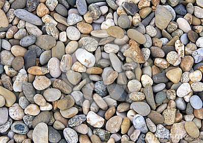 Smooth river stone background