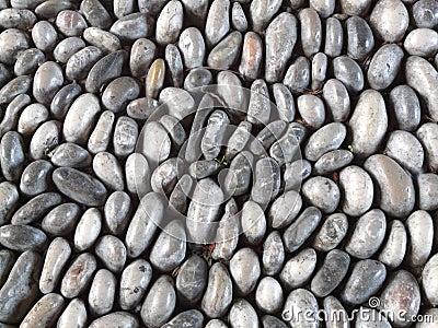 Smooth stones background
