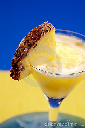 Smoothie dell ananas