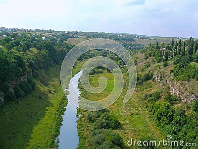 Smotrych River