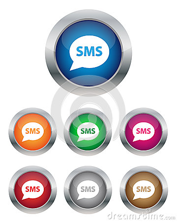 SMS buttons