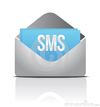 Sms envelope message