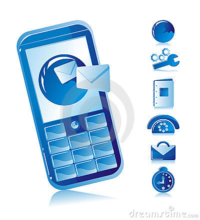 Sms mobile phone