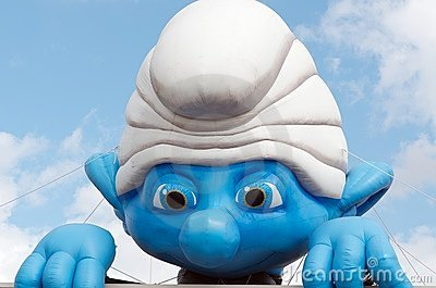 Smurf Editorial Stock Photo