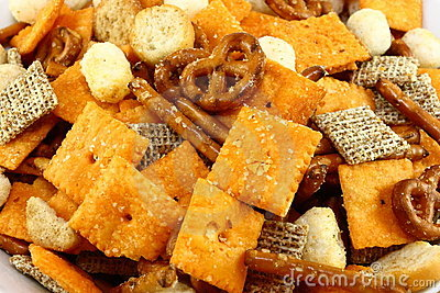 Snack Mix Close Up
