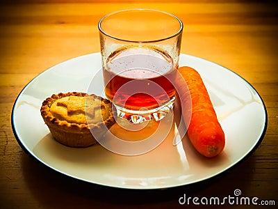 Snack for santa