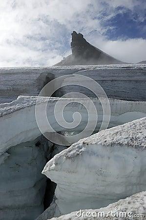 Free Snaefellsjokull Glacier, Iceland. Stock Image - 26655611