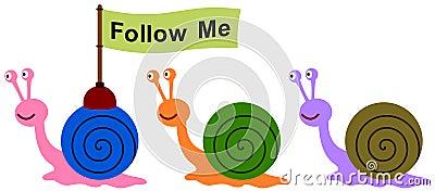 Snail leader