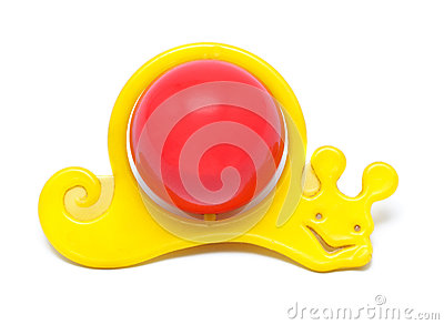 Snail Rattle Toy