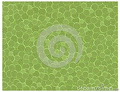 Snail texture green