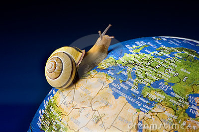 Snail tourist