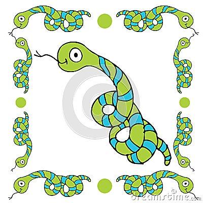 Snake Border