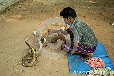 Snake charmer Editorial Image