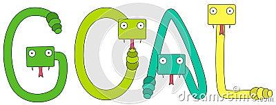 Snakes goal